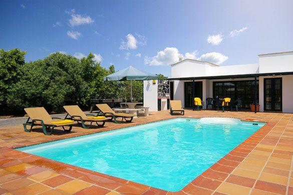 Villa Yeray, Playa Blanca, Lanzarote. Find more at www.villaplus.com