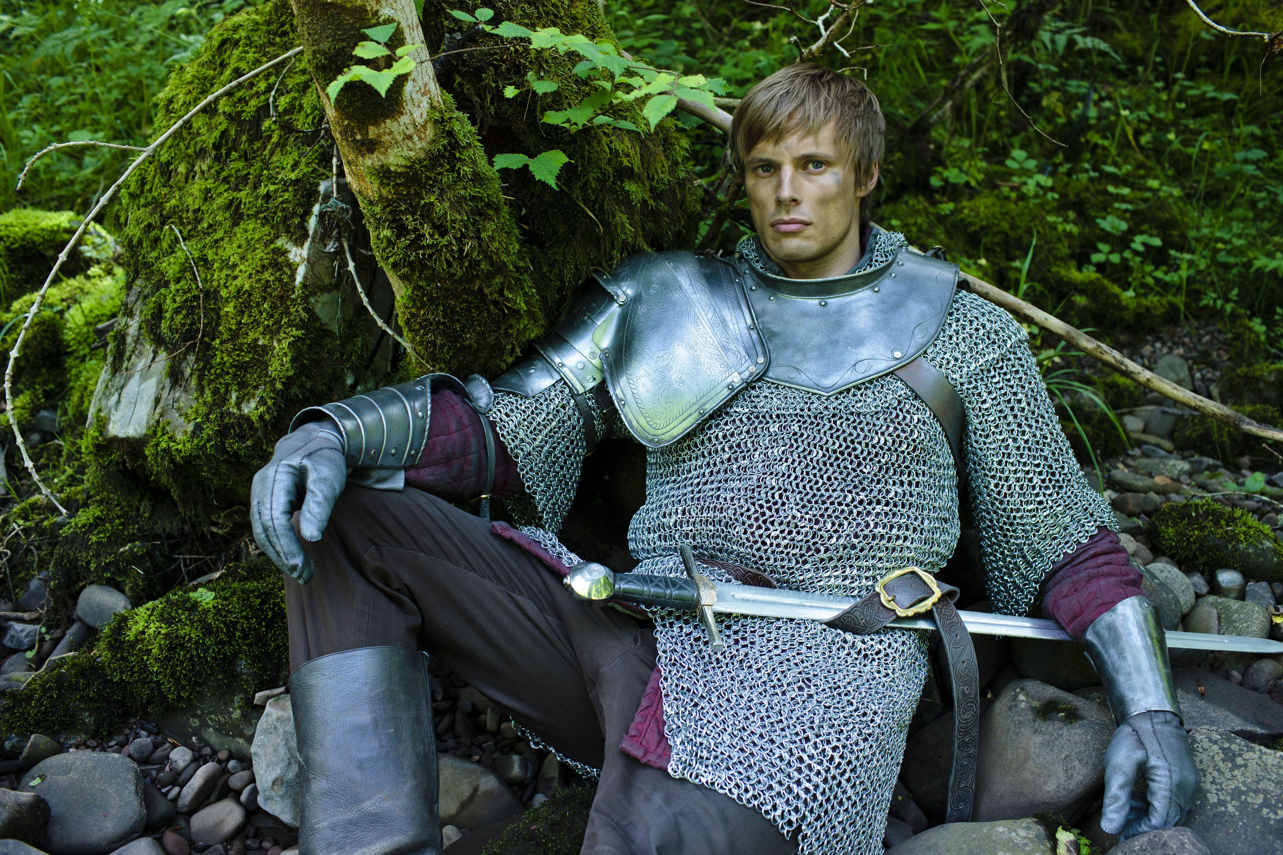 "Merlin S4 Bradley James as ""Arthur"""