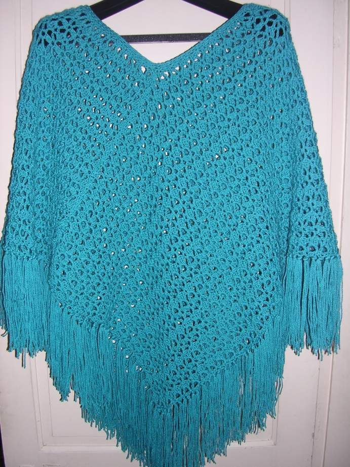 Free Easy Crochet Patterns Crochet Easy Free Pattern Poncho