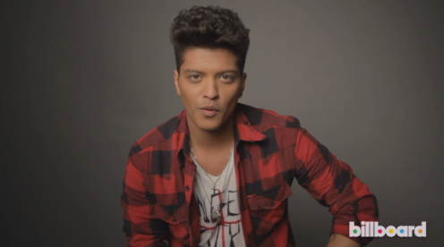 Bruno Mars: Billboard Artist of the Year 2013 - Cover Shoot + Q&A