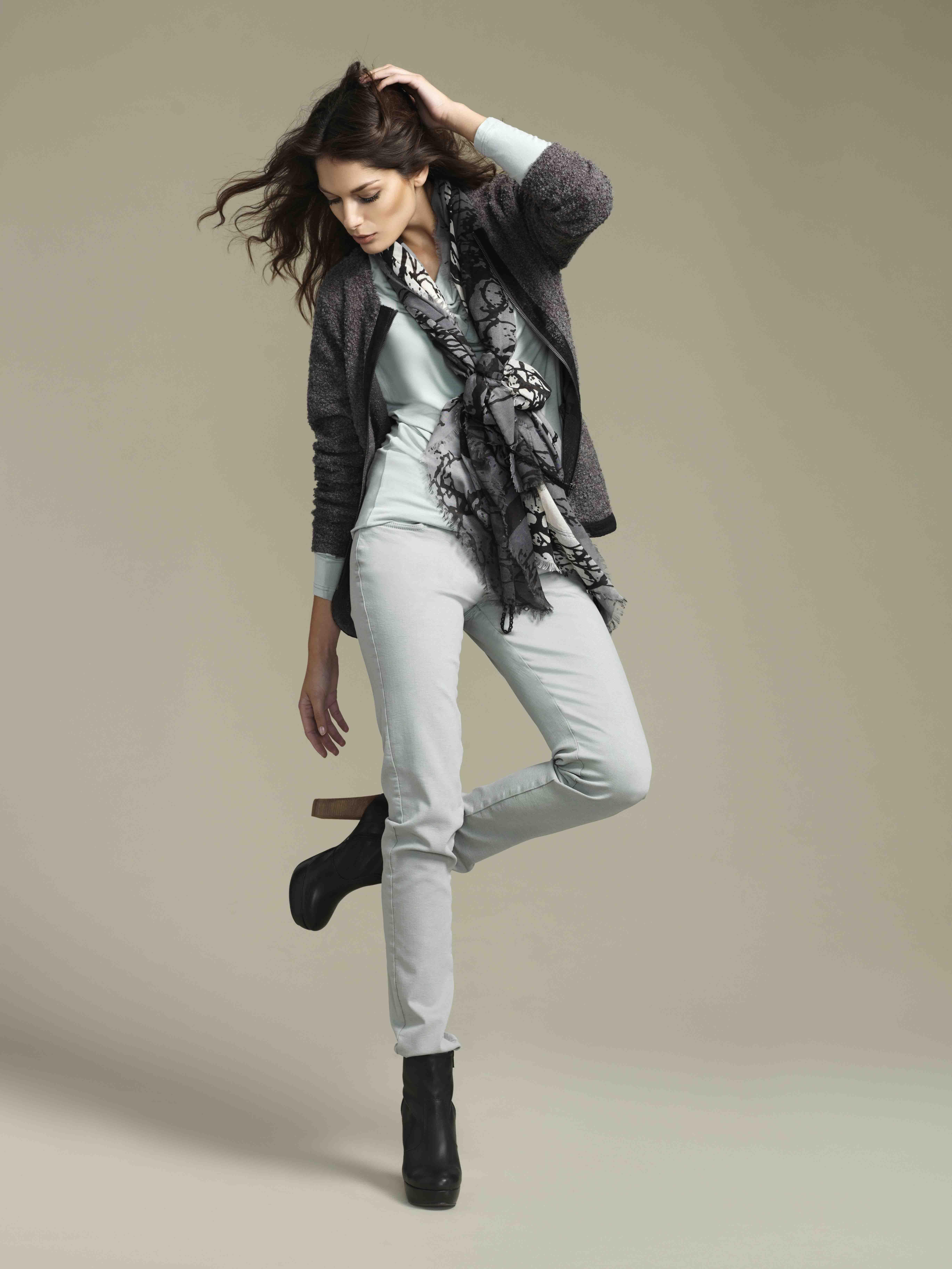 soyaconcept - cardigan - top - scarf - pants