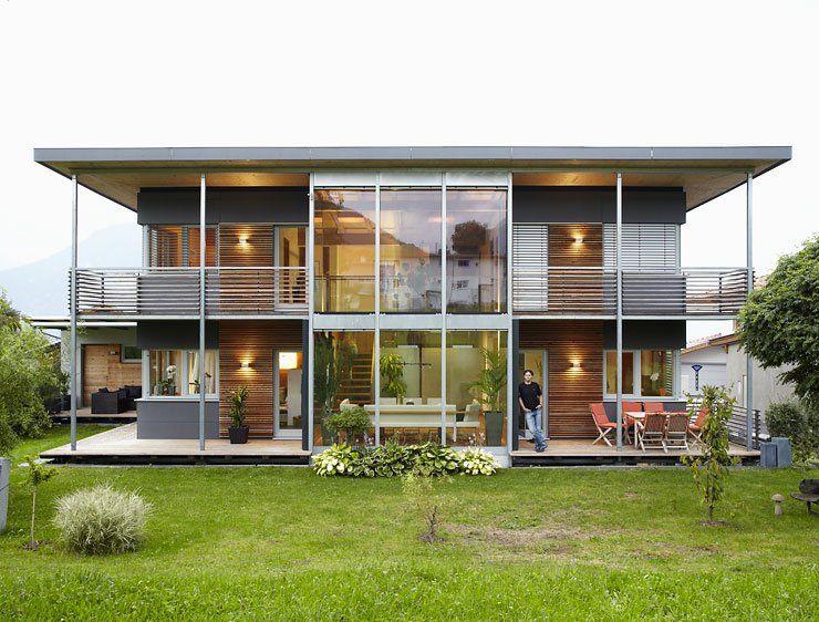 Hersteller: Wolf System: Modernes Landhaus | Wölfe Moderner Landhausstil Einrichtung Fassade