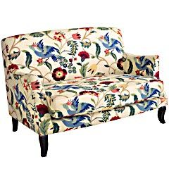 Miraculous I Am Loving This Loveseat I Saw It At Pier1 And Have Been Spiritservingveterans Wood Chair Design Ideas Spiritservingveteransorg