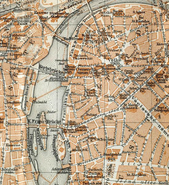 Prague Map Take Me To The Castle Www Fcmalby Com Amzn To 11okiaq