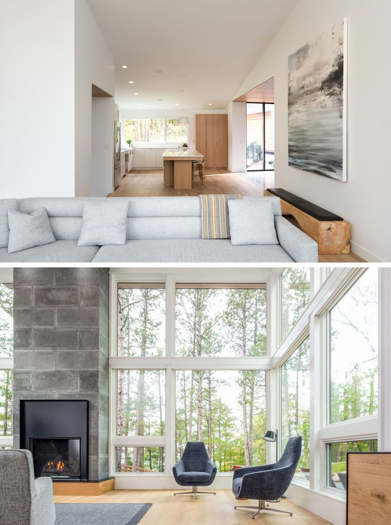 Northern Minnesota Lake House By Strand Design | Modern living rooms on home light show, crafts show, home art show, jewelry show, lighting show, food show, home repair show, technology show, office show, home show giveaways, home delivery show,