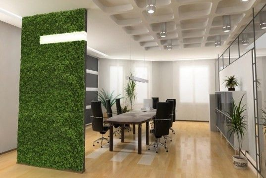 Soundproofing from living plants and recycled materials! (via @Inhabitat)
