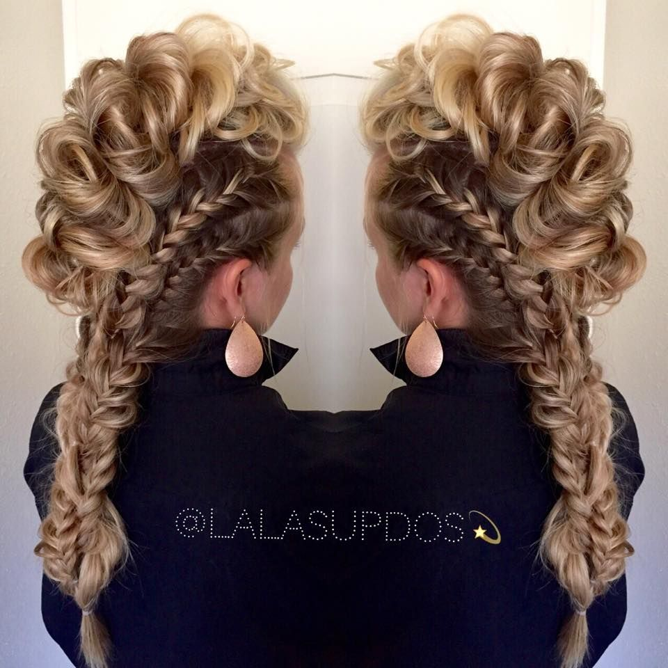 Lalas updos is the best place on ig to view beautiful braids and