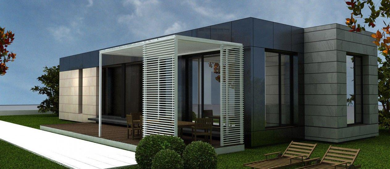 Resultado de imagen para pinterest casas prefabricadas modernas - casas modulares