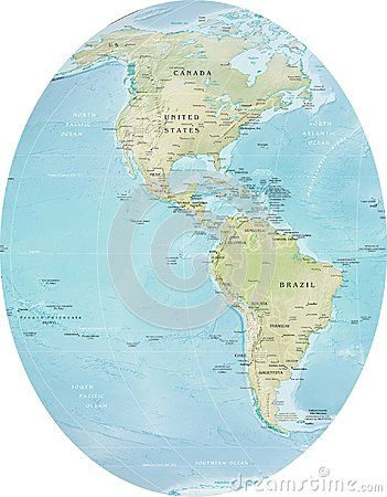 South Pole World Map.Detailed World Map With Countries Cities Waters Islands South