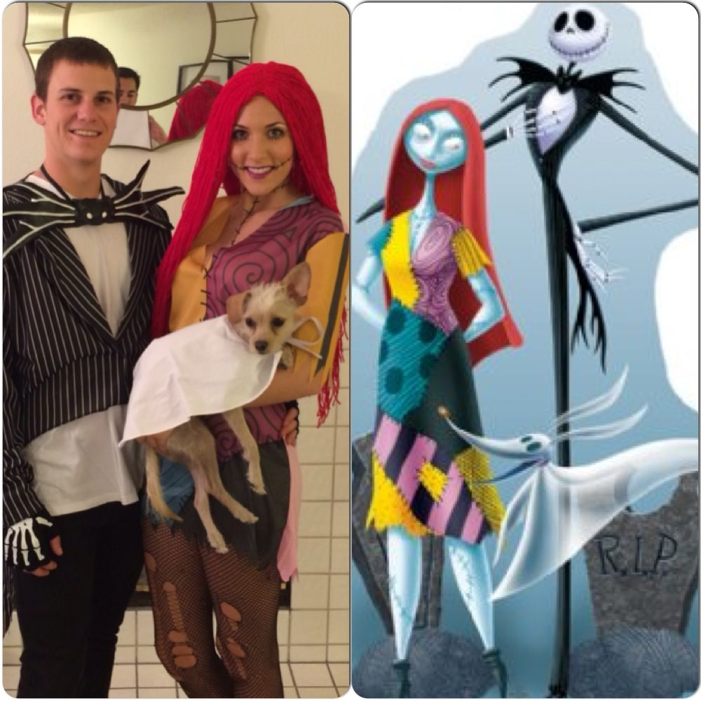jack and sally couples halloween costume   halloween - it's the most