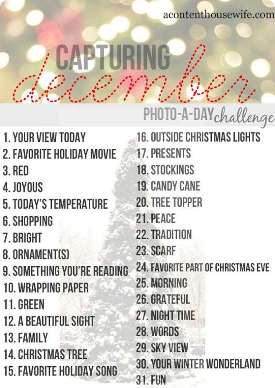 December Photo a day Challenge. @Marlène Cléroux @Nathalie ...