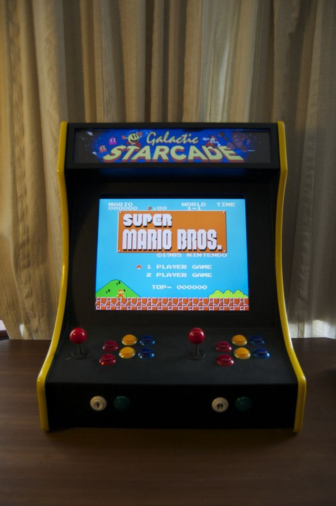 2-Player Bartop Arcade Machine (Powered by Pi) | Tools