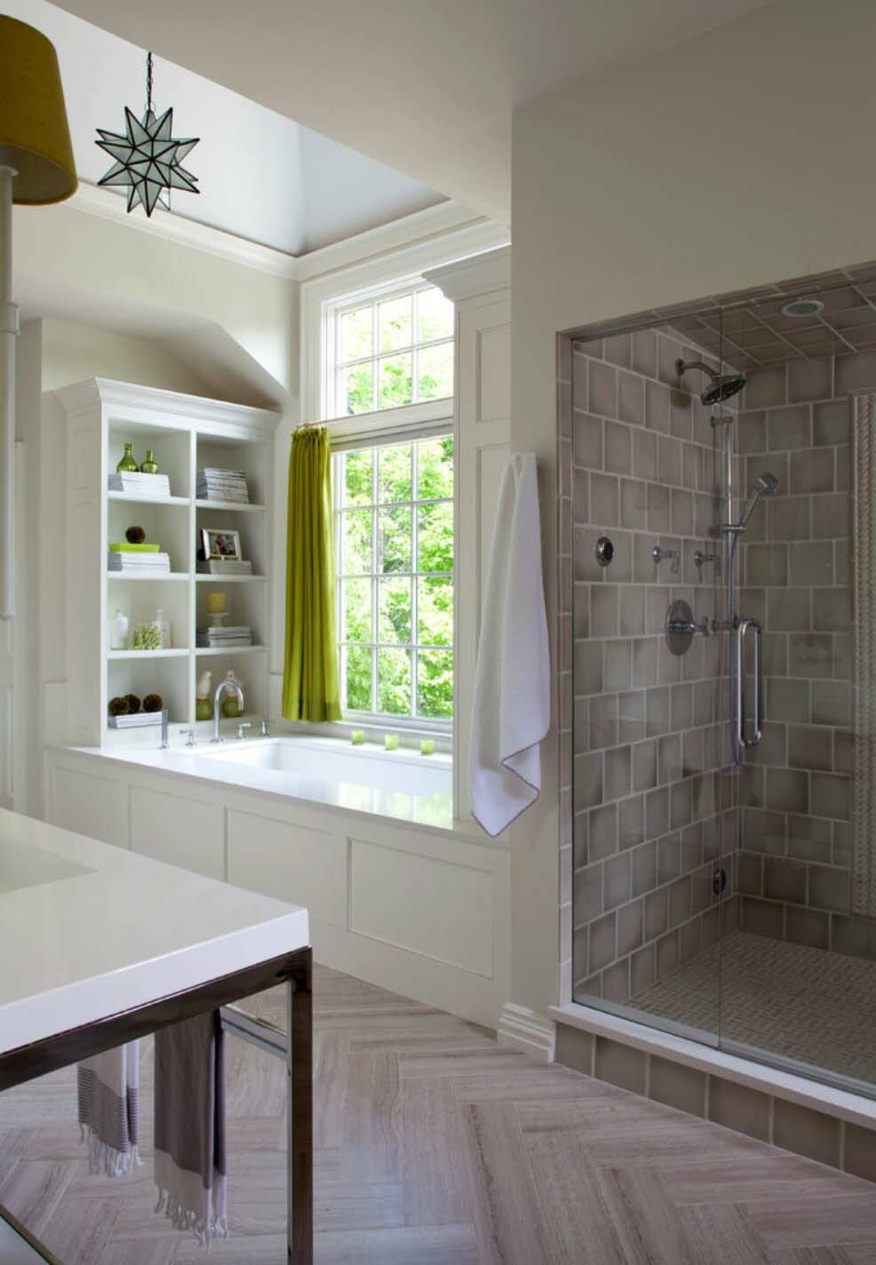 Renovated Home In Colorado Unveils A New England Chic Style Budget Bathroom Remodel Bathrooms Remodel Bathroom Design Luxury