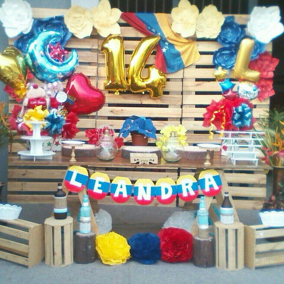 Decoración Venezuela En 2019 Decoracion De Cumpleaños