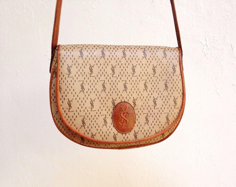 Vintage Ysl Purse 1970s Yves Saint Laurent Designer Crossbody Tote Sachel Bag Yvessaintlaurent Satchel Ysl Purse Vintage Ysl Purses