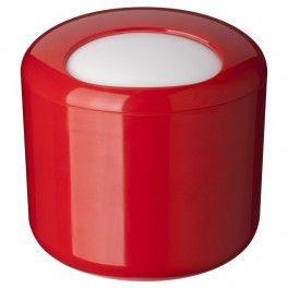 Poubelle de table Cosmo Rouge. Cubo basura = poubelle.