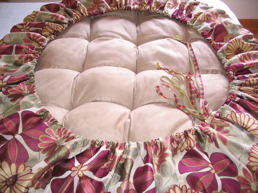 Image For Comfortable Papasan Chair Cushion Cover