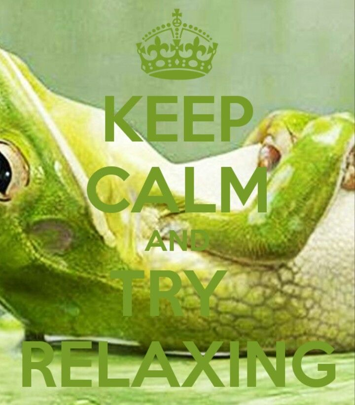 Try Relaxing