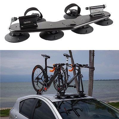 439 89 2 Bike Fork Mount Roof Car Suv Vans Top Roof Bicycle