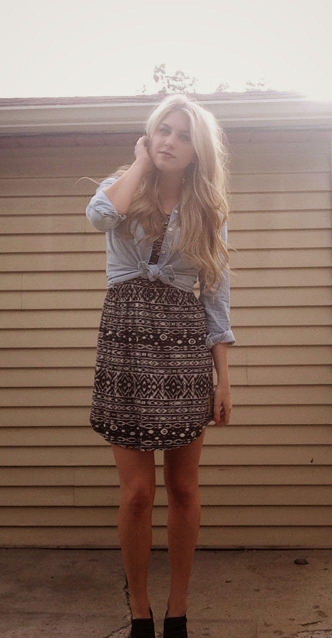 Golden State Style / Billabong Tribal Dress / Bret #summer #billabongwomens #blonde