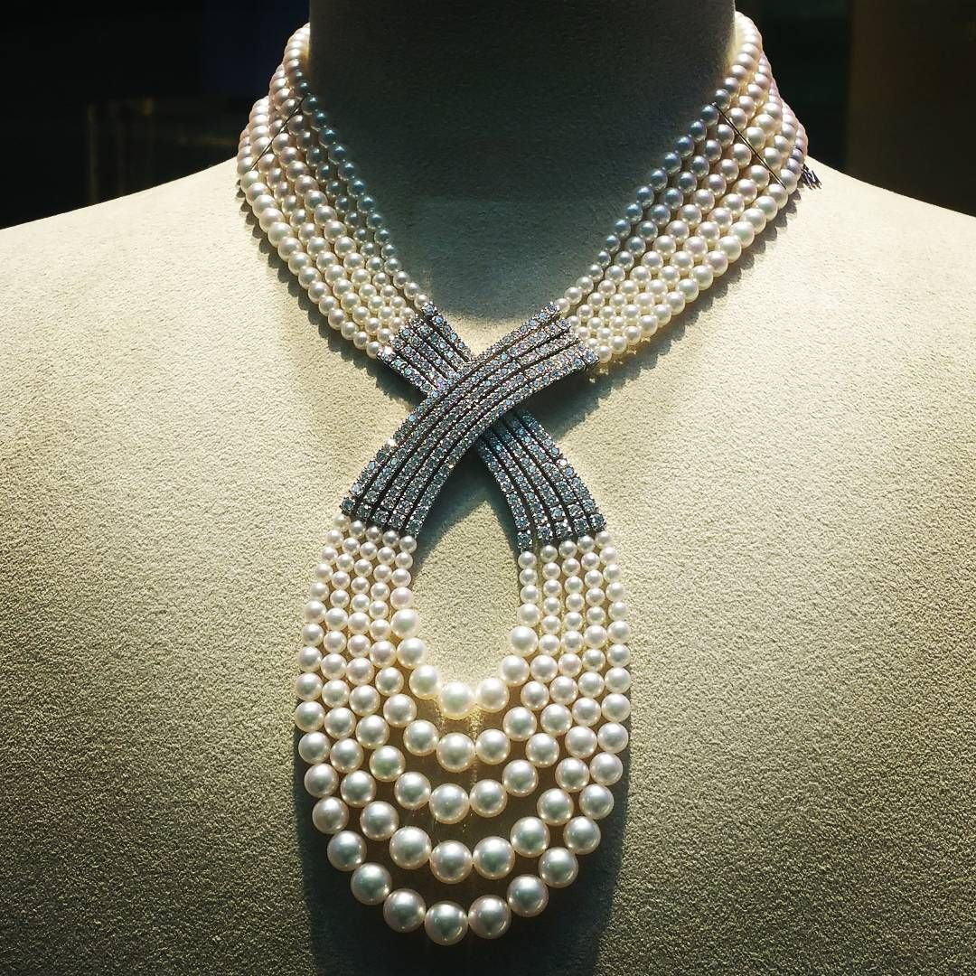Official Mikimoto Pearl Necklace More