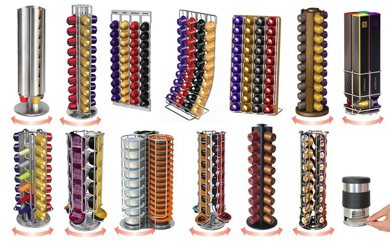 20 most creative nespresso capsules rack 1 design per day coffee pinterest nespresso. Black Bedroom Furniture Sets. Home Design Ideas