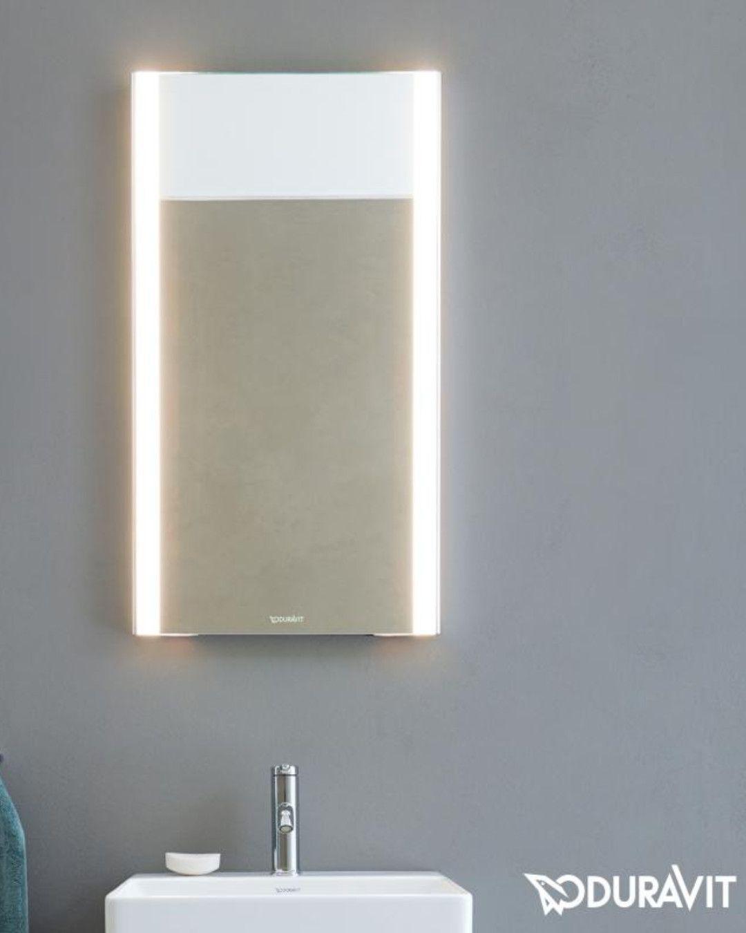 Duravit Xsquare Erhellenden Komfort In Puristischem Design Bringt Der Duravit Xsquare Spiegel Mit Led Beleuchtung In I Spiegel Gaste Wc Led Spiegel Wc Spiegel