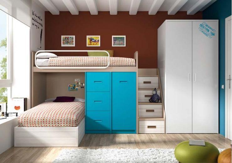litera-3.jpg 740×520 píxeles | Habitaciones para niños | Pinterest ...