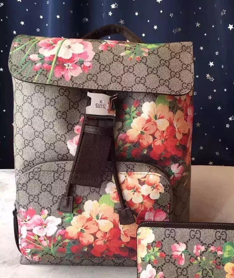 66a8b019992b Gucci Blooms Backpack 100% Authentic 80% Off | Real Gucci Tote Bags ...