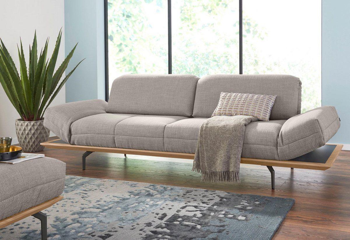3 Sitzer Hs 420 In 2 Qualitaten Holzrahmen In Eiche Natur Oder Nussbaum Hulsta Sofa Sofa Und Eiche Natur