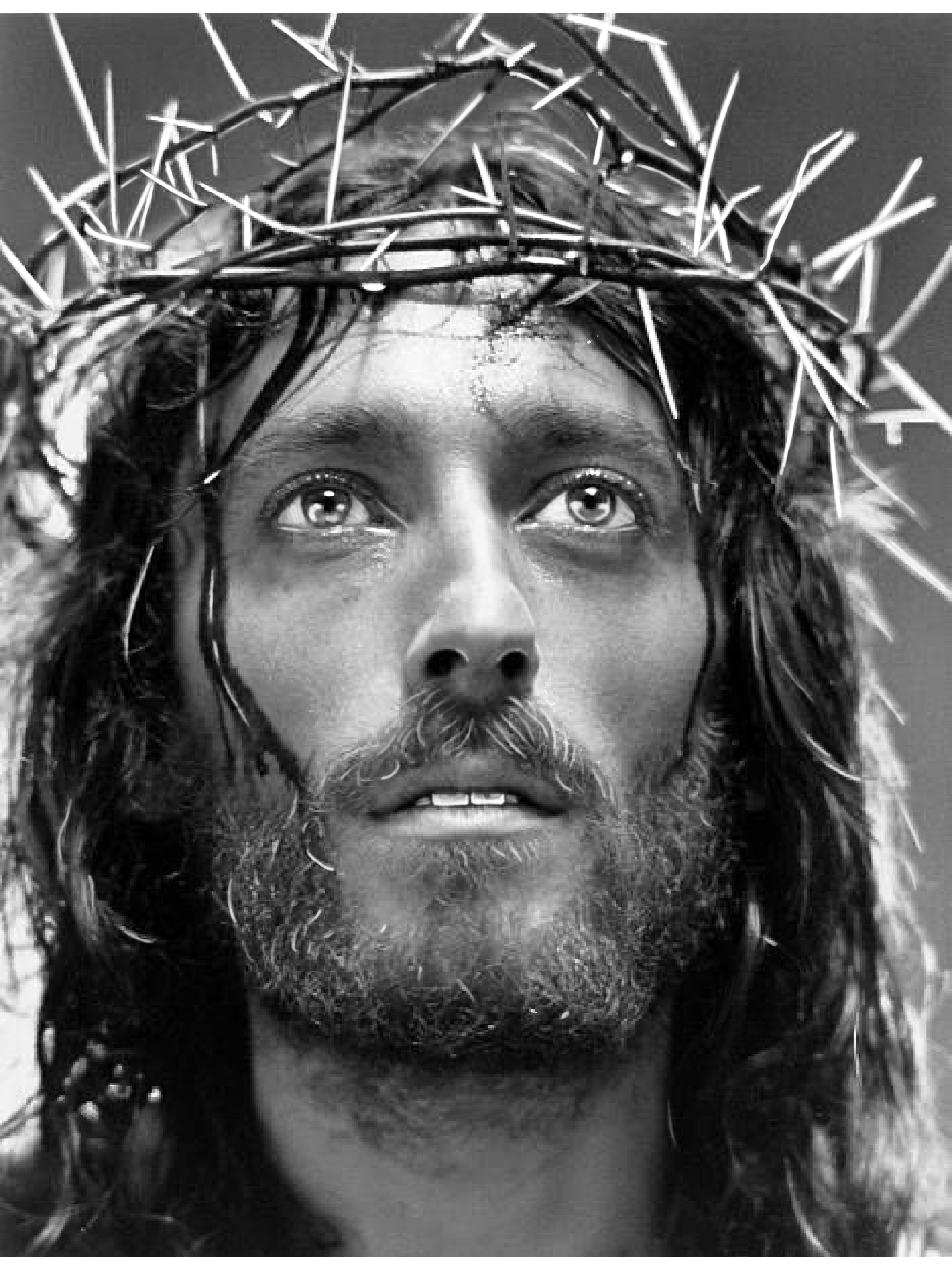 Pin By Maricarmen Guerrero On Meus Desenhos Jesus Christ Portrait Christ Tattoo Jesus Christ Tattoo