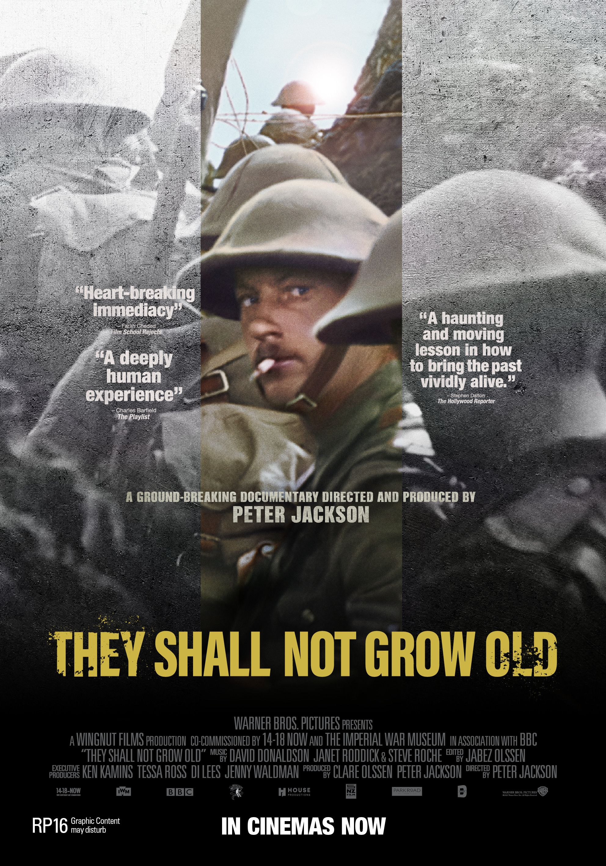 They Shall Not Grow Old Streaming Vostfr : shall, streaming, vostfr, Shall, (2018), [1984, 2835], Movie, Poster,, Documentaries,, Growing