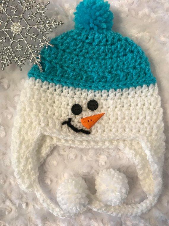 Snowman hat 80d64d3b3996
