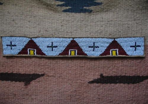 BEADED-HEAD-BAND-LAKOTA-Sioux-Reproduction-Beadwork-Quillwork