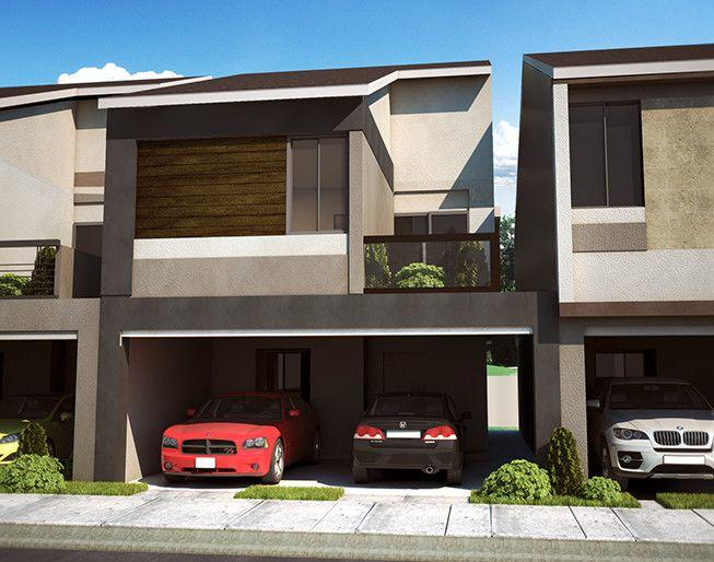 Planos y fachadas de residencias modernas por dentro y por for Fachadas de casas interiores