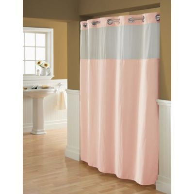 Product Image For Hookless Waffle Fabric Shower Curtain 1 Out Of