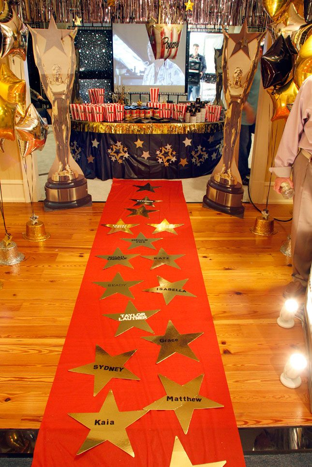 Inviting arkansas featured oscar night young women for Hollywood party dekoration