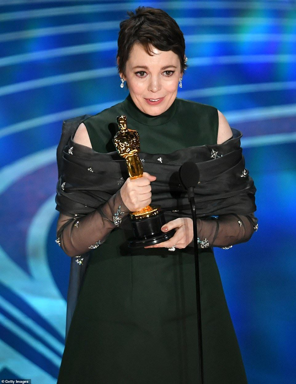 Oscars 2019: Olivia Colman brings down the house with her