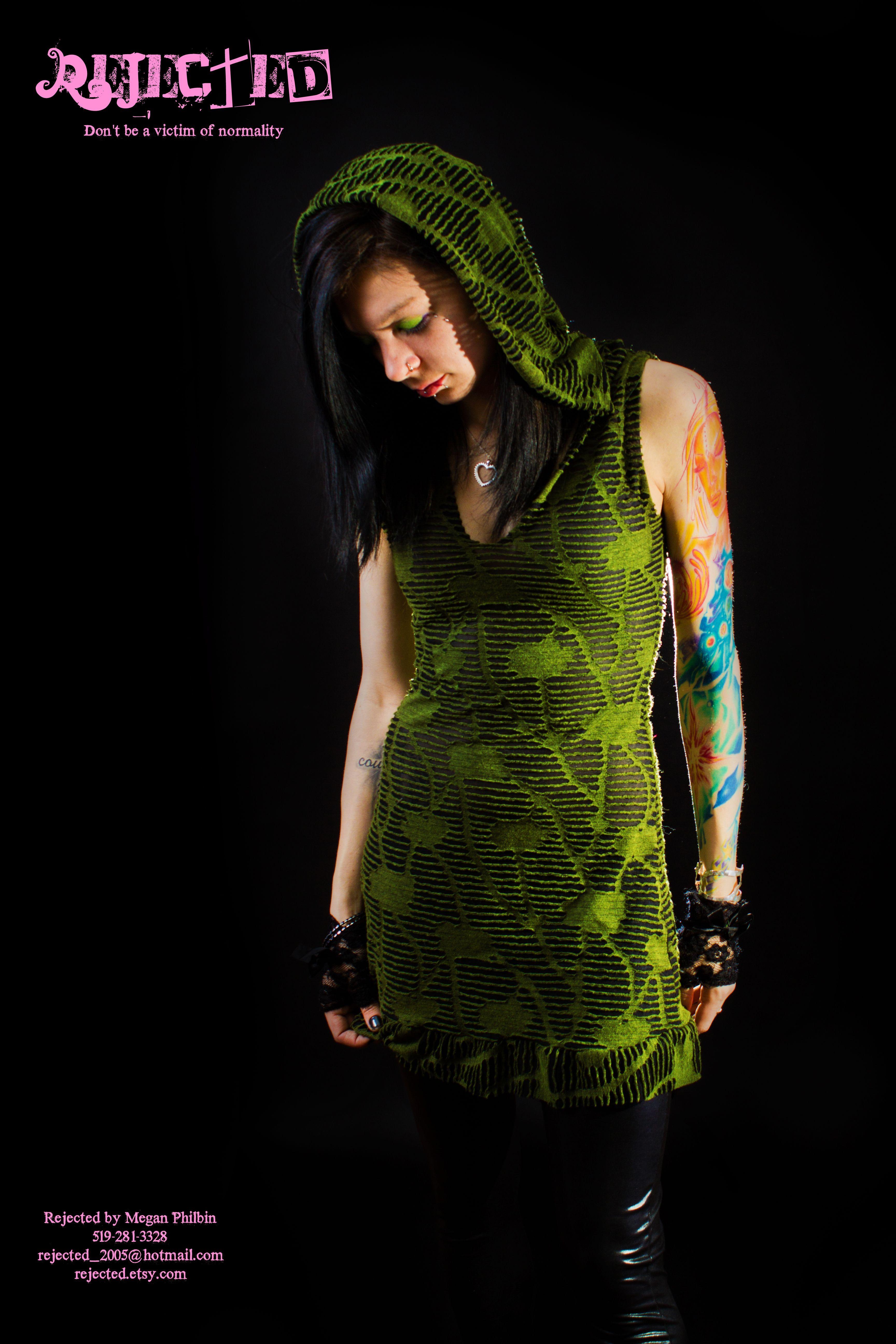 Rejected Emo dress #emodresses Rejected Emo dress #emodresses