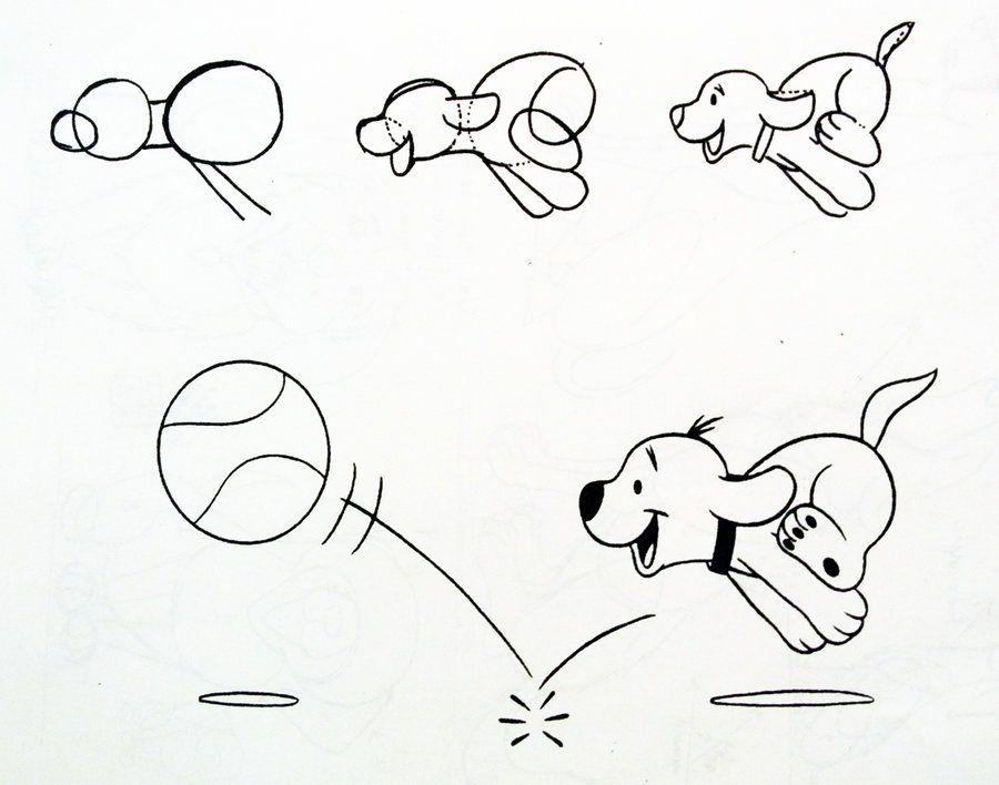 drawpuppyrunningbydiana huangdeviantartcom - Simple Kid Drawings