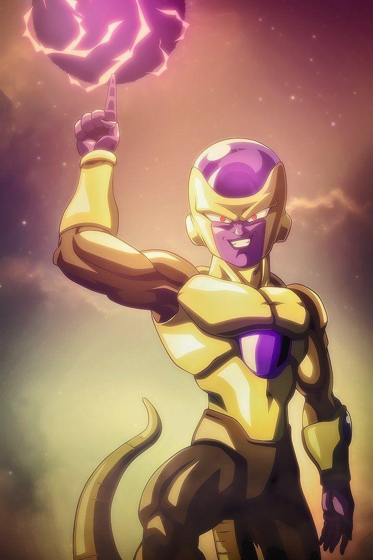Golden freeza em 2020 freeza dourado animes wallpapers