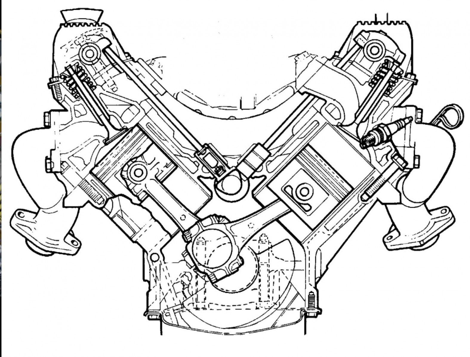 Rover V8 Engine Diagram Rover V8 Engine Diagram