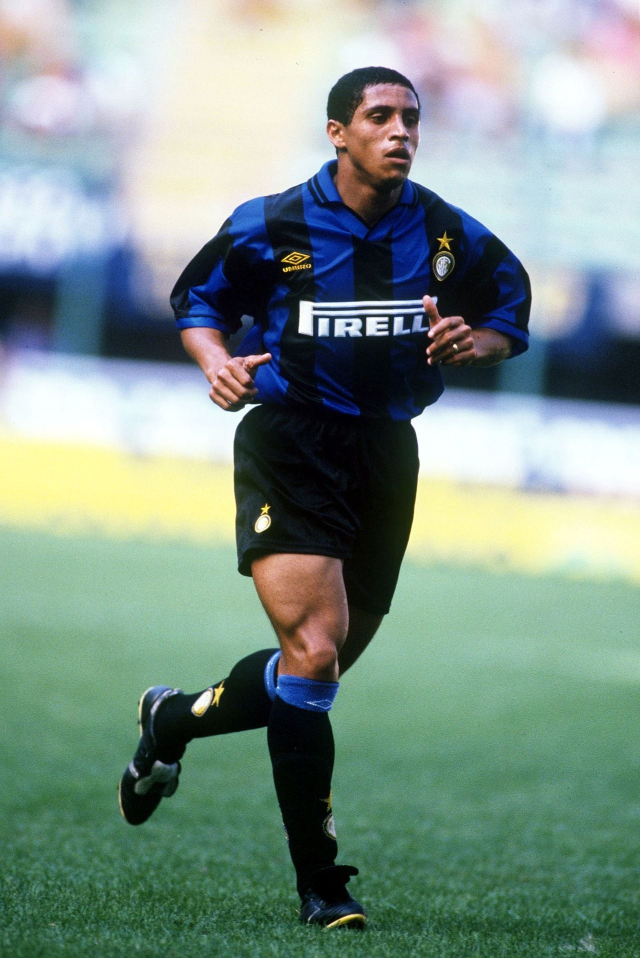 ~ Roberto Carlos on Internazionale Milano Inter Milan ~