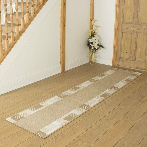 Three Posts Teppich Bale in Beige | Wayfair.de #hallwaydecorations