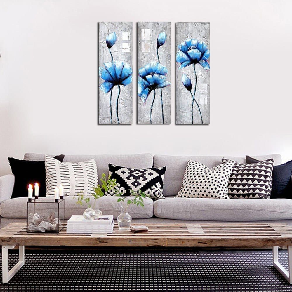 Framed Canvas Living Room Sofa Background Wall Decoration