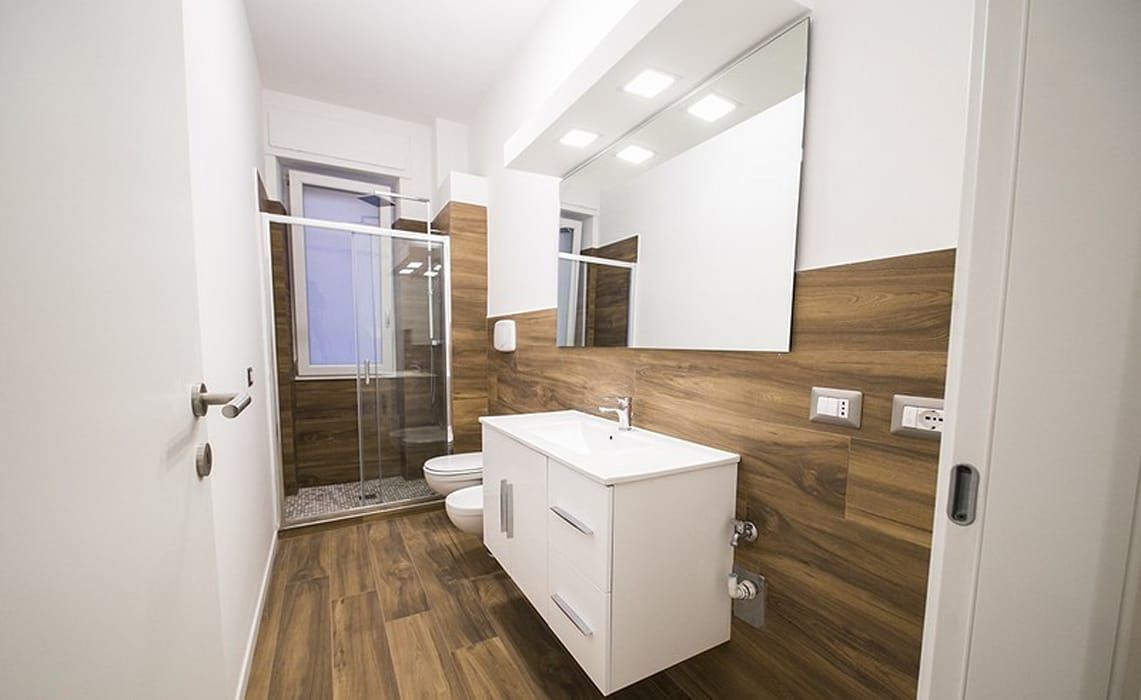 Bagno Stile Minimalista : Arredare il bagno lo stile moderno init on line