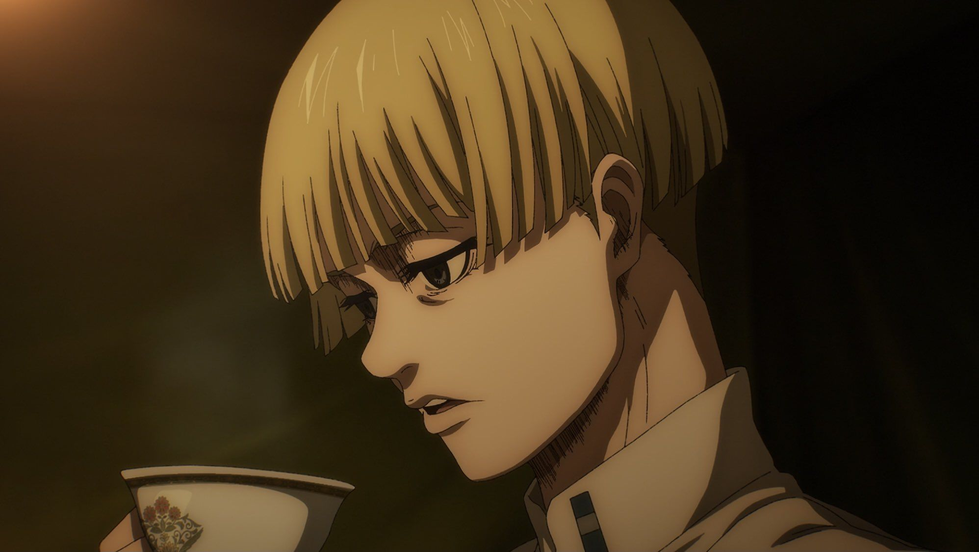Yelena from the anime, attack on titan; rys on Twitter in 2021   Attack on titan anime, Attack on ...