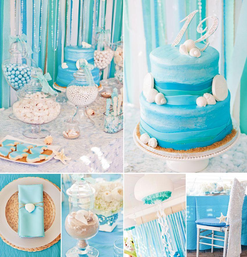 Ocean Theme Kid S Birthday Party Birthday Kids Parents