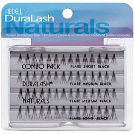 8fc6c8c13da Ardell DuraLash Naturals Knot Free Flare Lashes Combo Brown ...