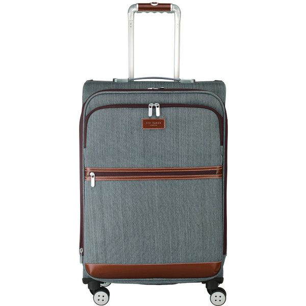 3f3902532f6509 Ted Baker Falconwood 4 Wheel Suitcase - Medium ( 333) ❤ liked on Polyvore  featuring